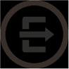Symbol som representerar utför
